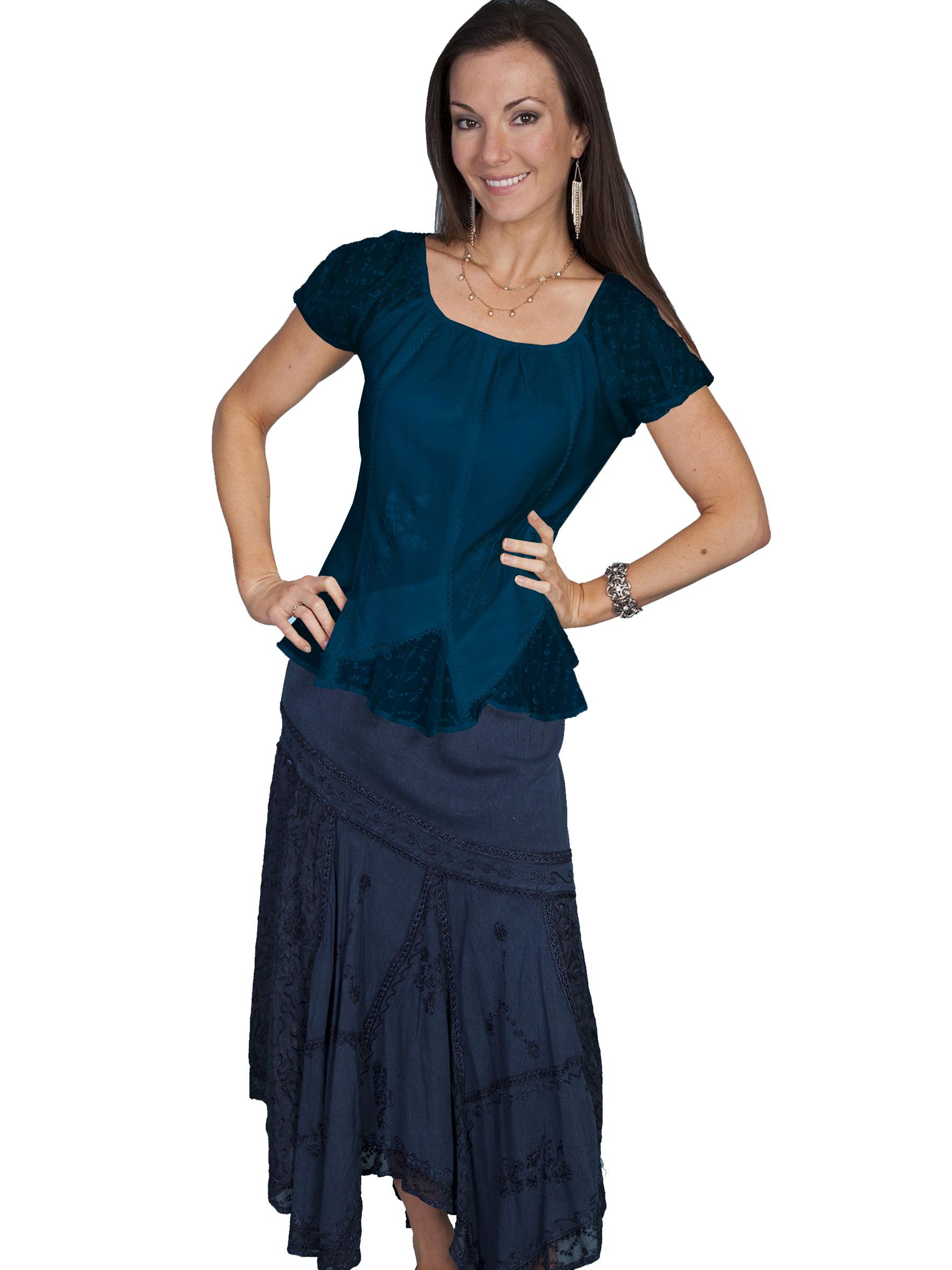 Plus Size Short Sleeve Blouses