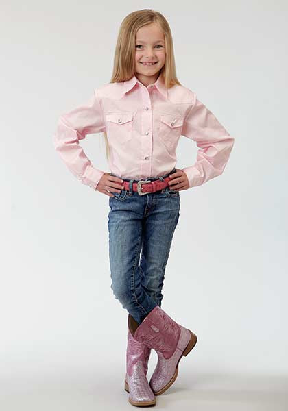 Girls Western Shirt Frontier
