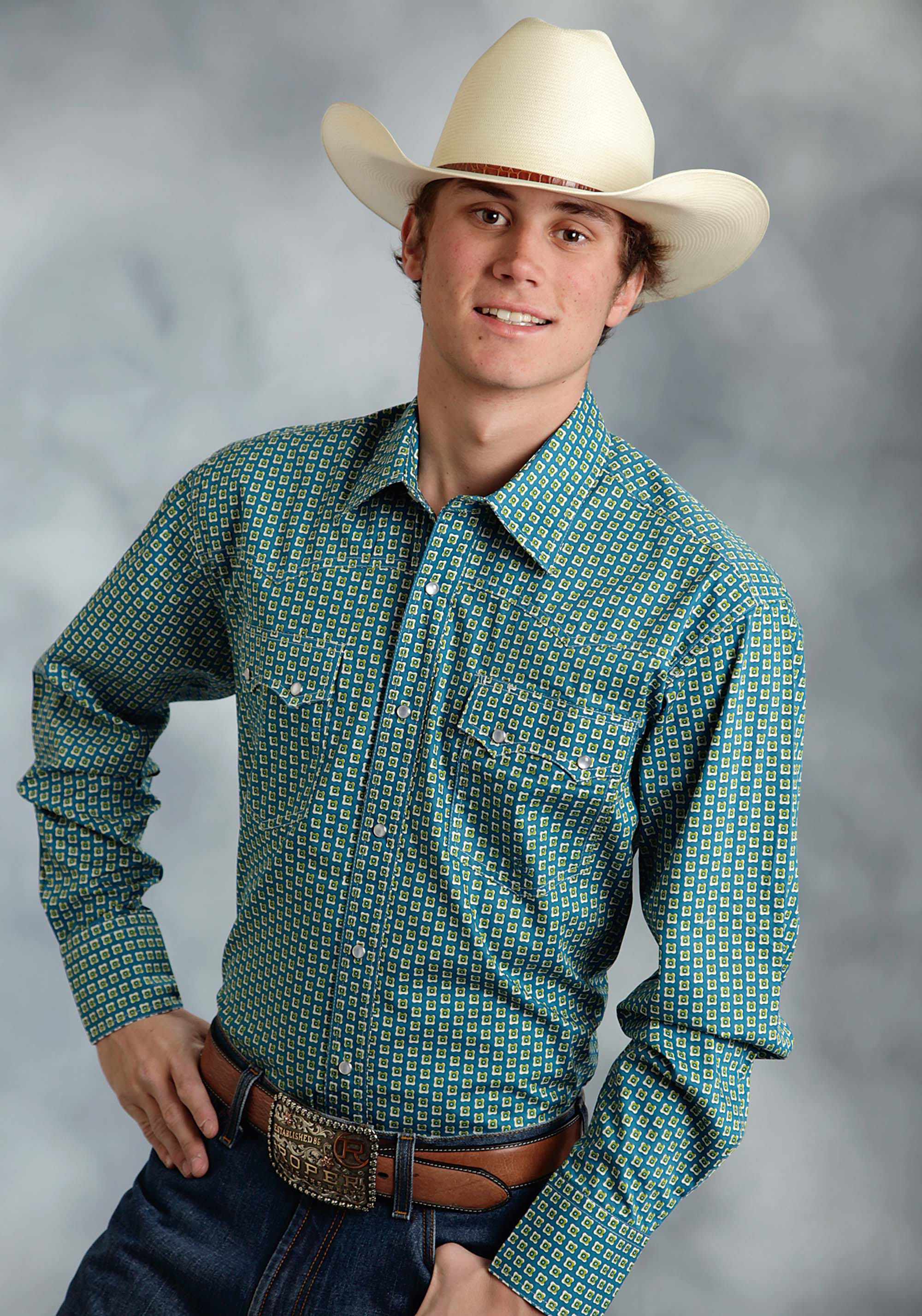 Mens big tall western shirt willow wind for Mens tall western shirts