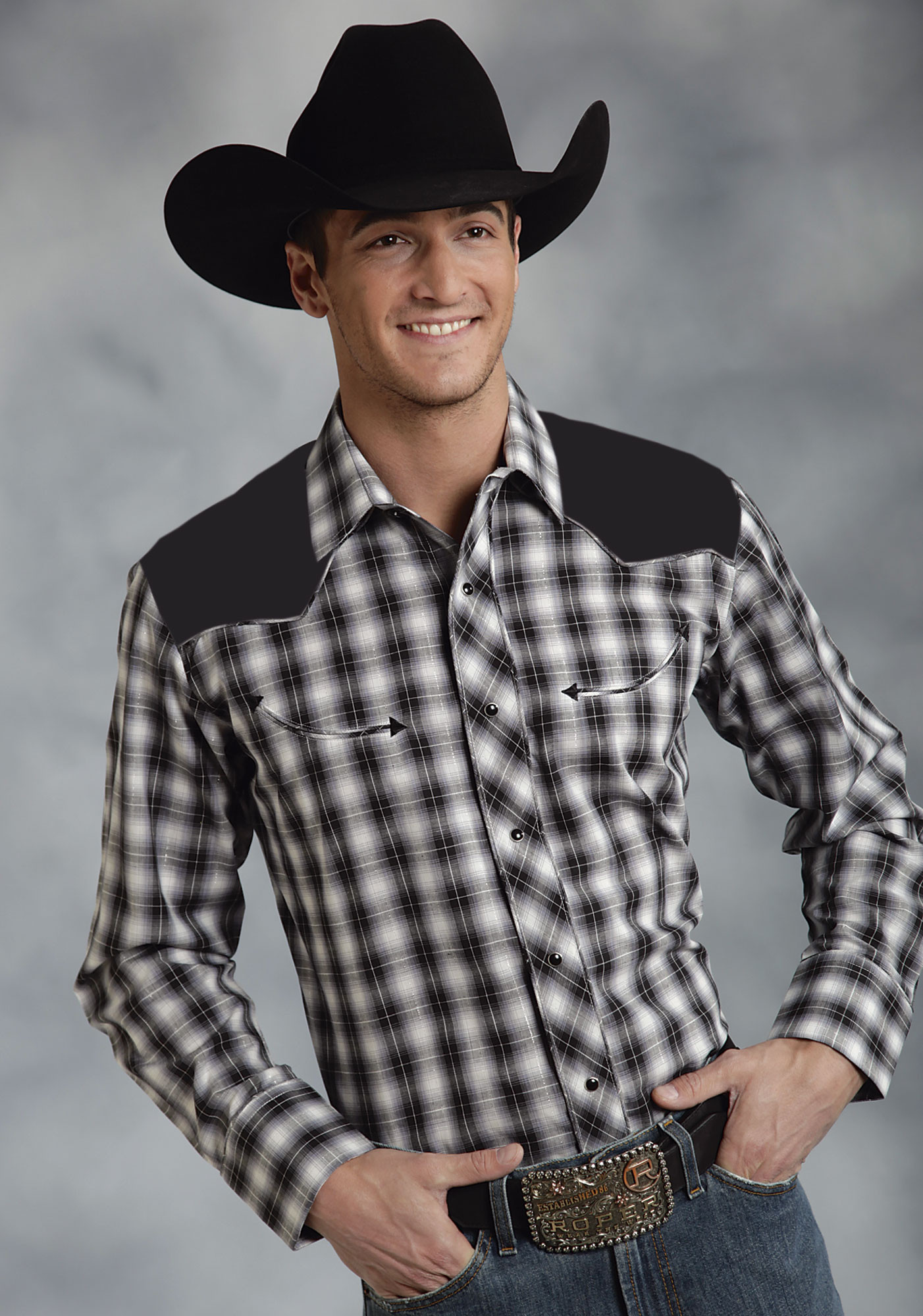 Over 30, Men's Long Sleeve Western Shirts at ganjamoney.tk: Snap Long Sleeve Shirts, Wrangler Long Sleeve Shirts, Stetson Long Sleeve Shirts, Western Long Sleeve Shirts and more - in .