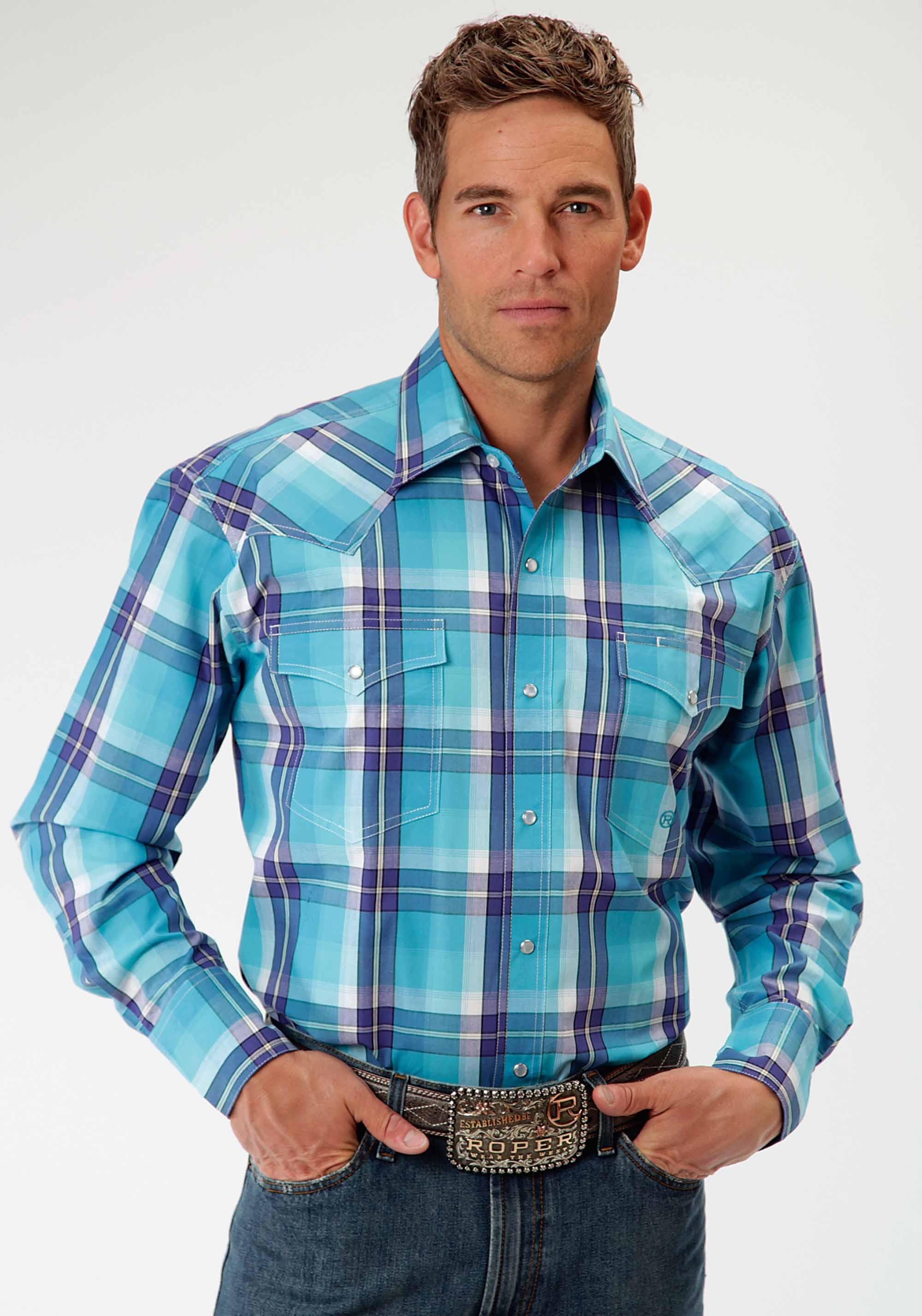 Mens Cowboy Shirt - High Noon