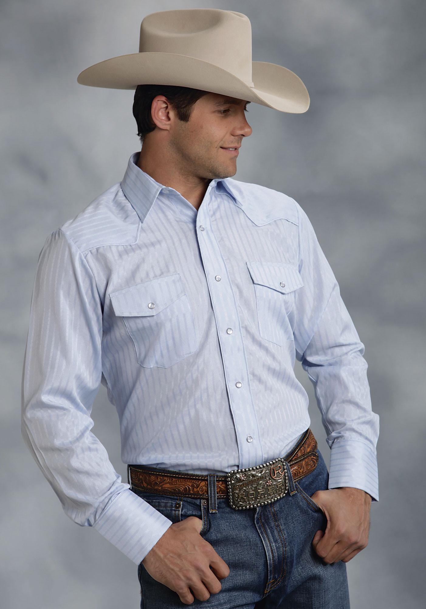 Mens Pearl Snap Western Shirts