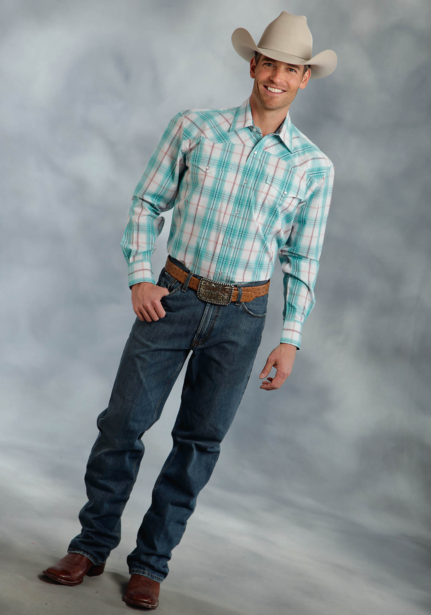 Mens big and tall western shirt nashville for Mens tall western shirts