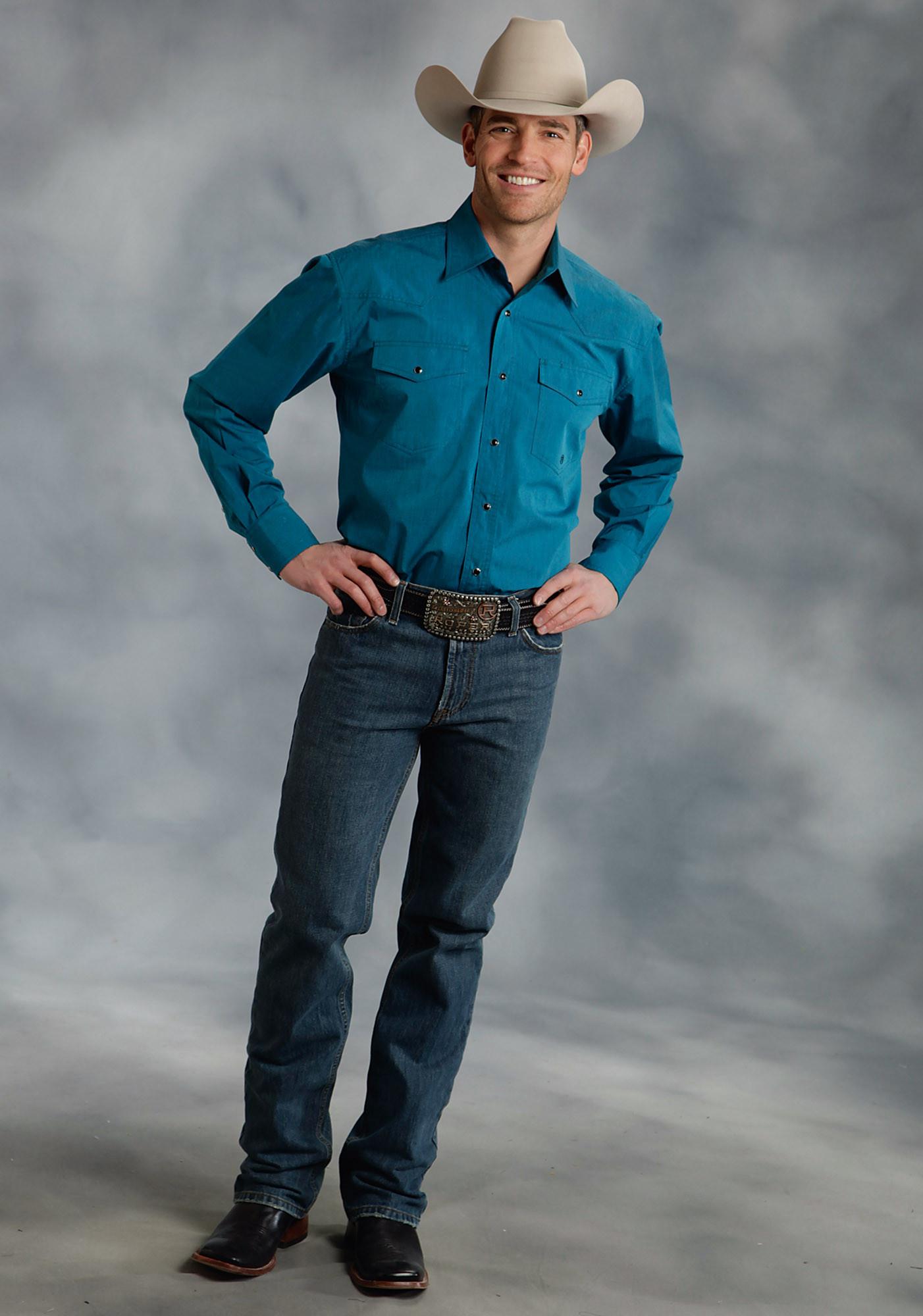 Mens big and tall western shirt garland for Mens tall western shirts