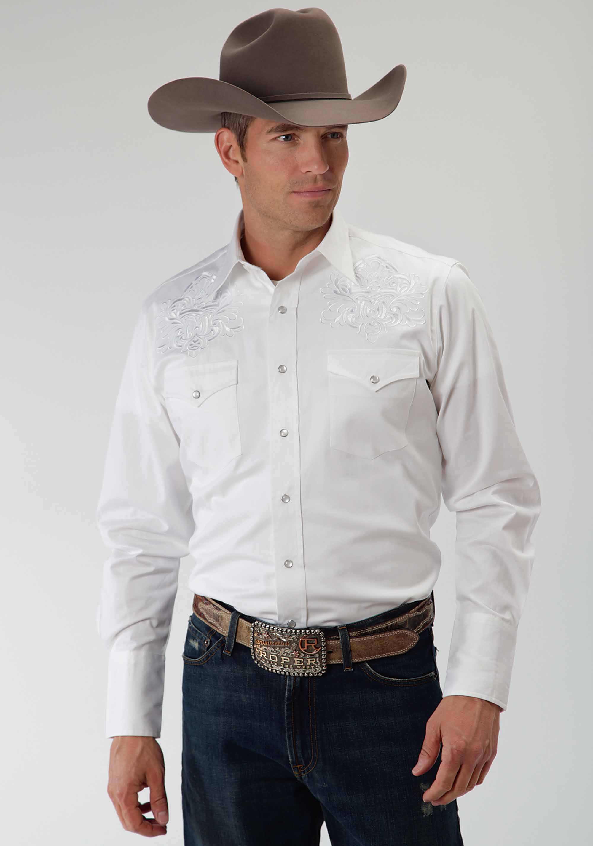 Mens Short Sleeve Dress Shirts White