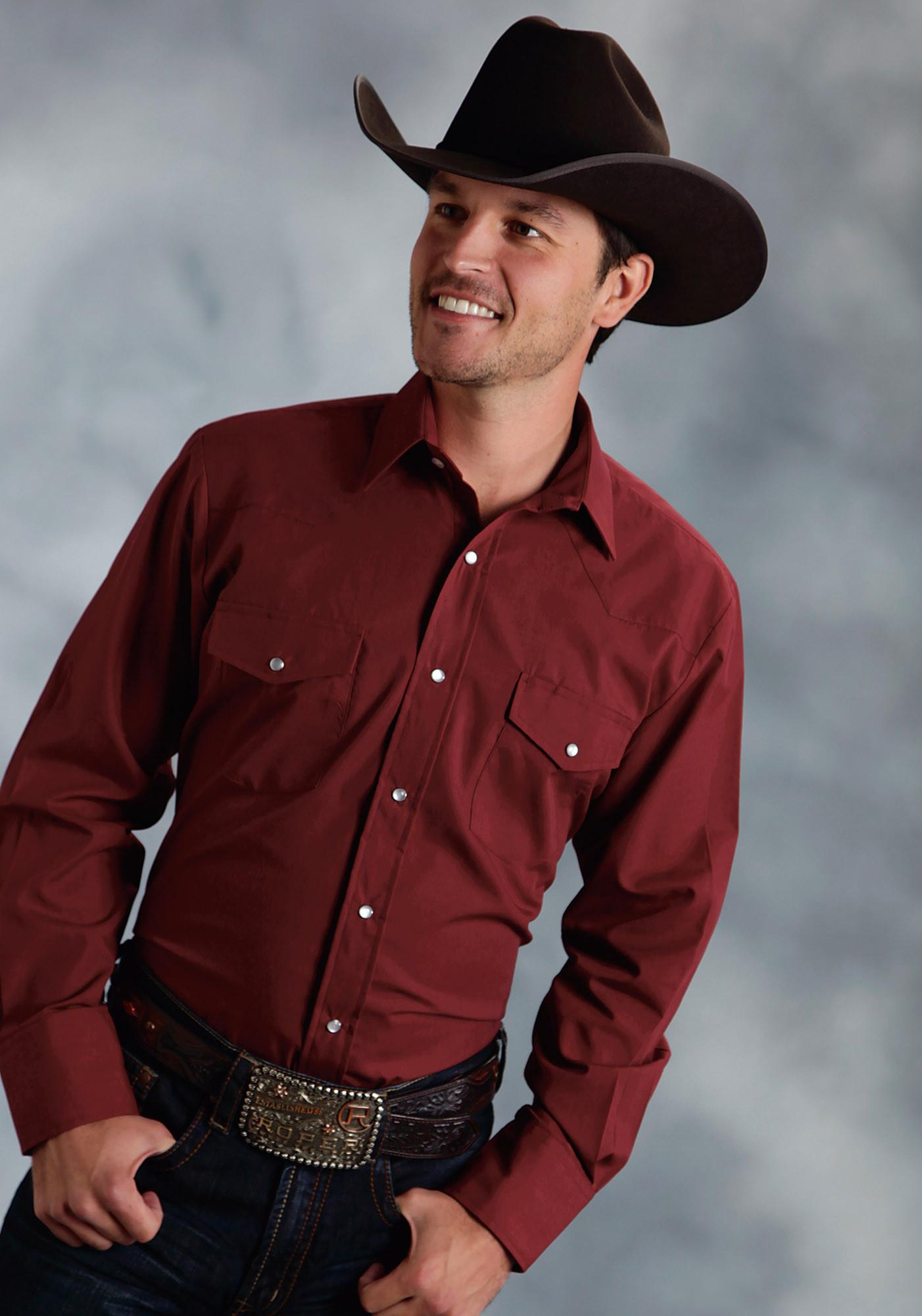Mens Cowboy Shirt Mesquite