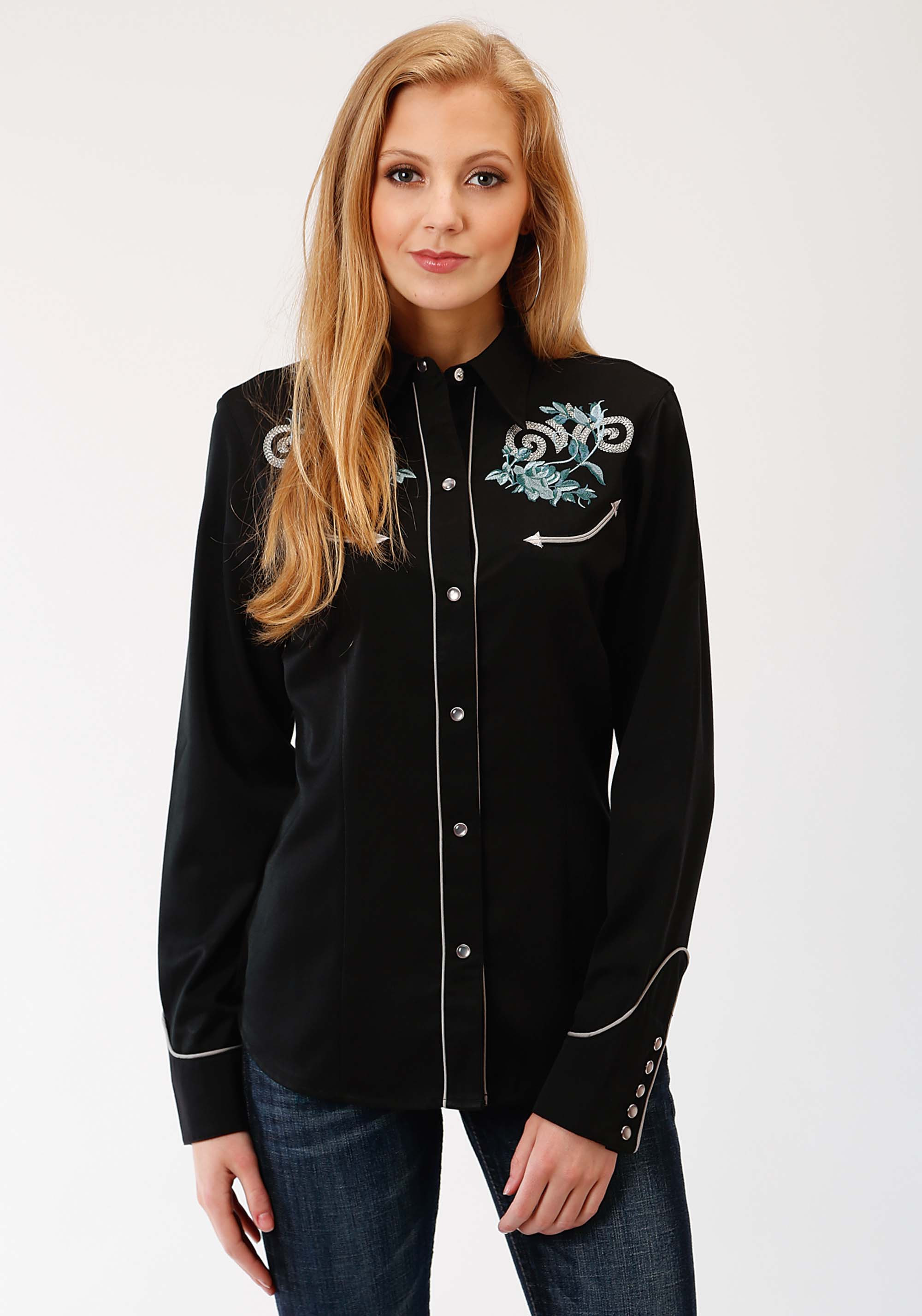 Embroidered Western Shirts for Women
