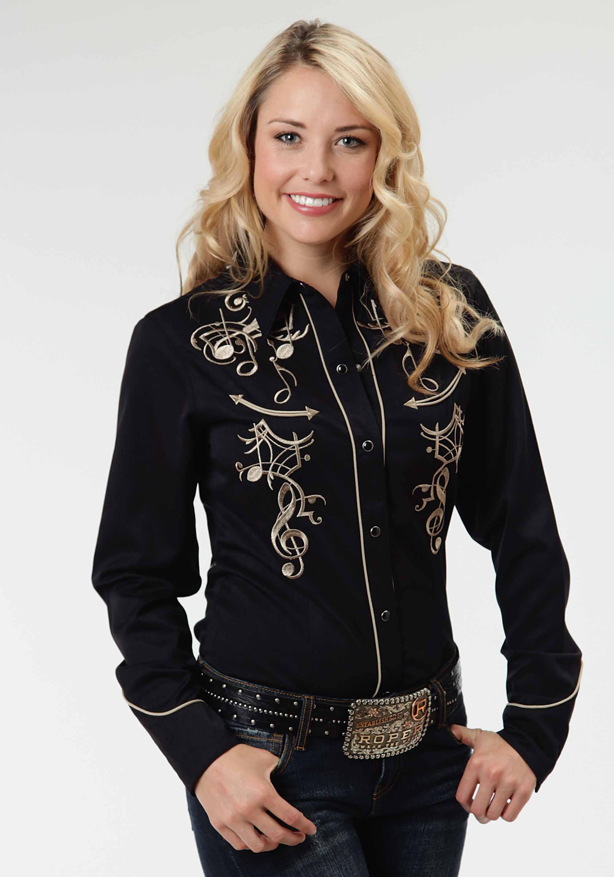 Western Style Shirts Womens