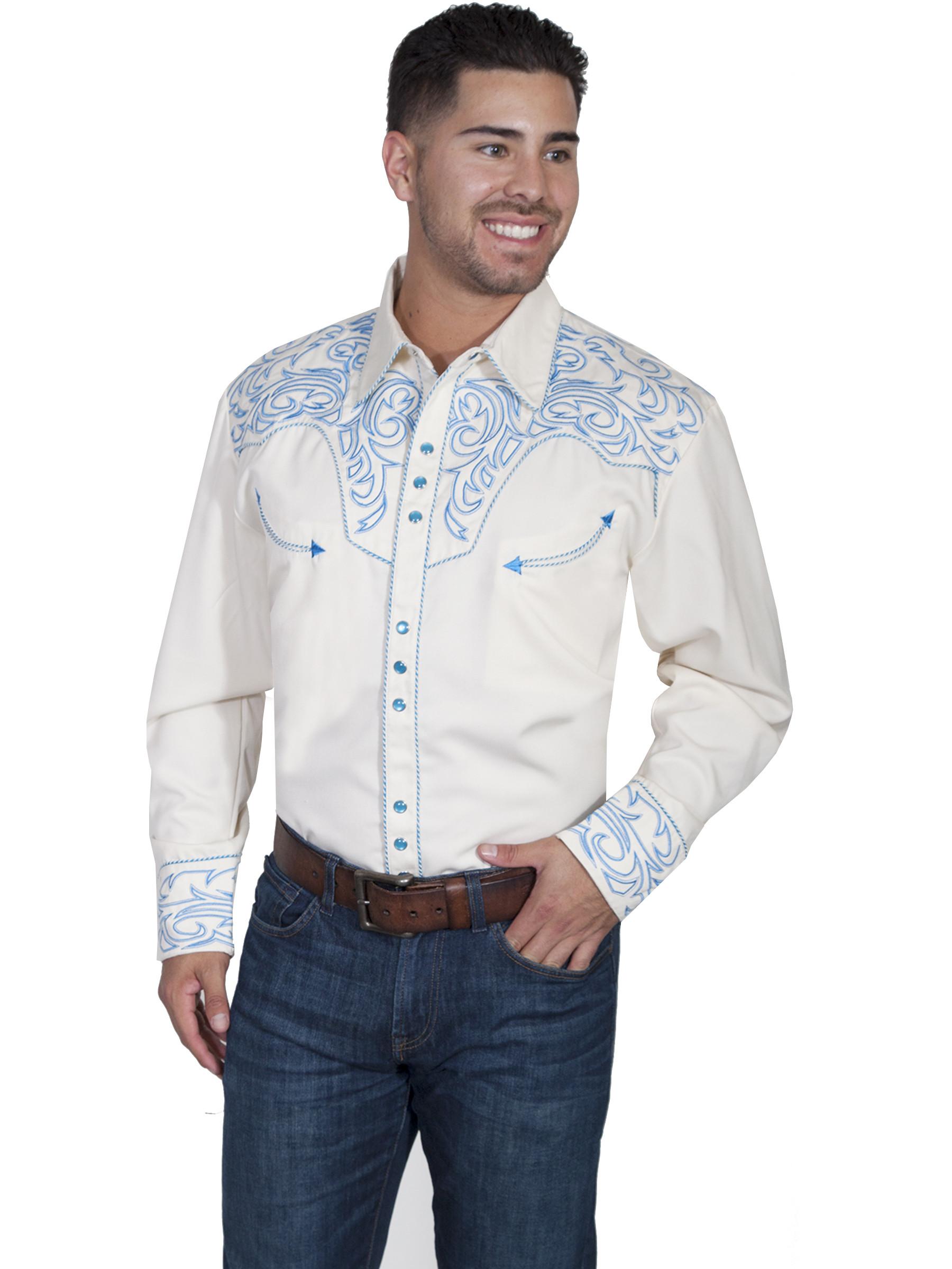 Mens Western Snap Shirts