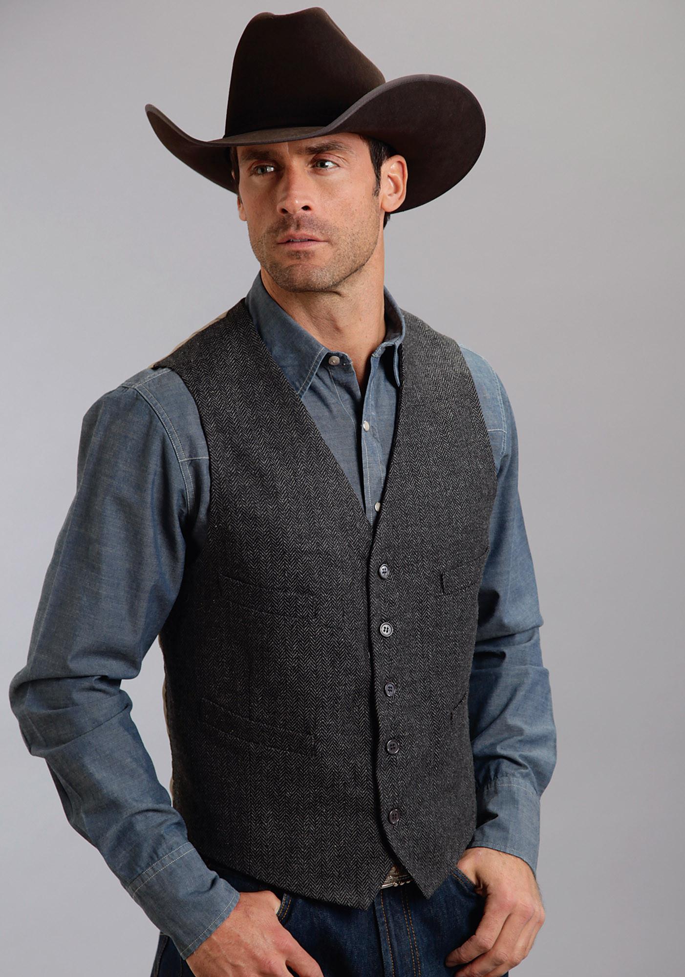 Mens Striped Long Sleeve Shirt