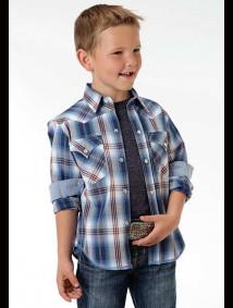 Boys Western Shirt - Marina