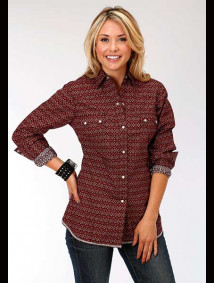 Women Western Shirt ~DIAMOND TAPESTRY