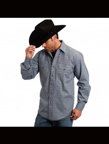 Stetson Western Shirt ~ DUOMO FOULARD