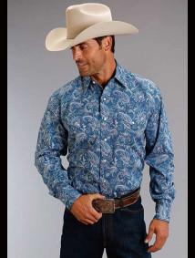 Stetson Western Shirt ~ Ornate Paisley