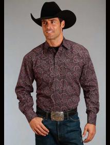 Stetson Western Shirt ~ JETTISON PAISLEY