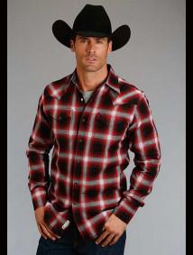 Stetson Western Shirt ~ RUSTIC PLAID