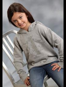 "Girls Western Sweatshirt - ""Starlight"""