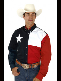 "Mens Western Shirt - ""Texas"""