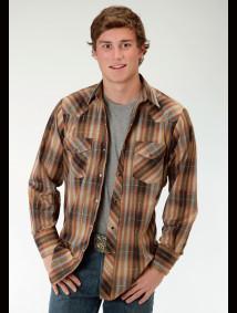 Mens Cowboy Shirt - Russet Mountain