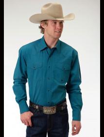 Mens Western Shirt - Lowland