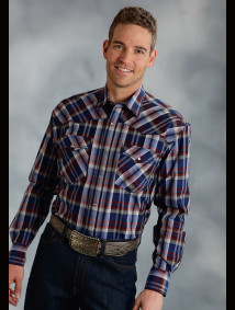 Mens Big & Tall Cowboy Shirt - Chandler