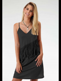 Womens Western Tank Dress - Shimmy