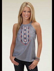 Womens Western Tank Top - Spirit Dawn
