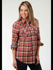 Womens Cowgirl Shirt - Mojave Spice