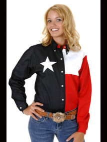 "Womens Western Shirt - ""Texas"""