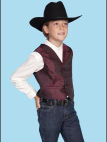 Boys Western Vest - Rustle