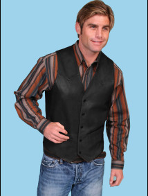 scully-black-lambskin-button-western-vest