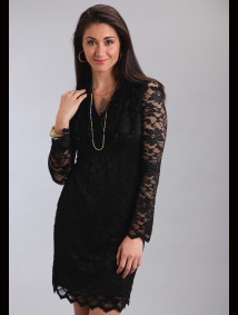 Stetson Womens Western Dress - Onyx Lace