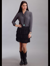 "Womens Western Skirt - ""Twilight Flirt"""