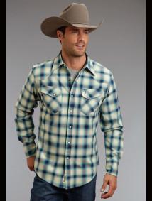 Stetson Mens Cowboy Shirt - Western Brawn