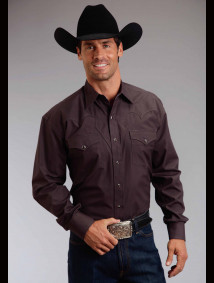 Stetson Mens Western Shirt - True Grit