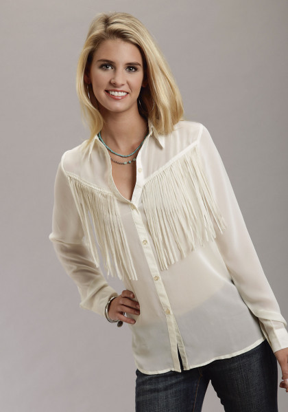 Fringe Benefits Blouse