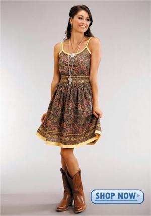 womens western skirts dresses