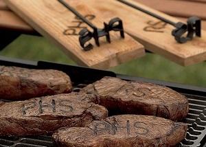 custom BBQ branding iron