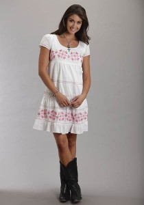 Cowgirl Babydoll Dress