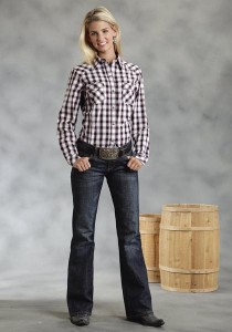 Women's Check Western Shirt