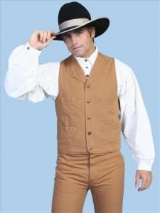 """""""Old West"""" vest"""