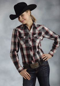 Ladies Plaid Shirt