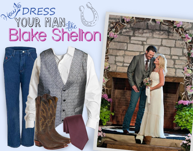 How to dress your man like Blake Shelton