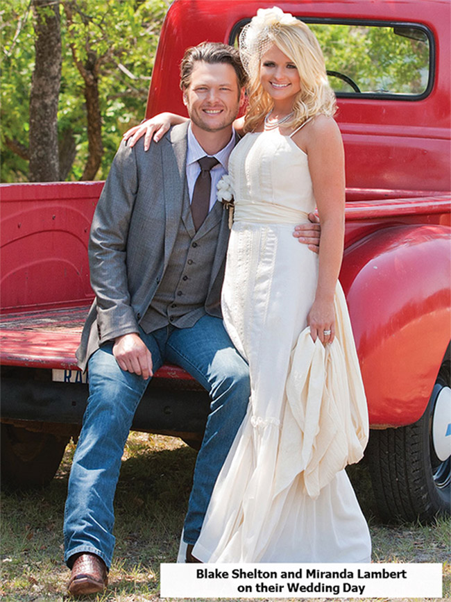 Blake Shelton wedding