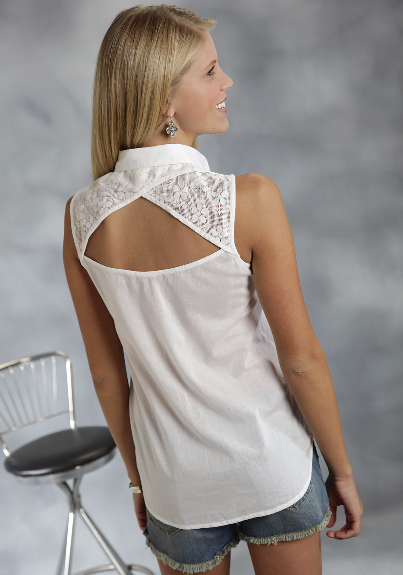 Womens Sleeveless Blouse