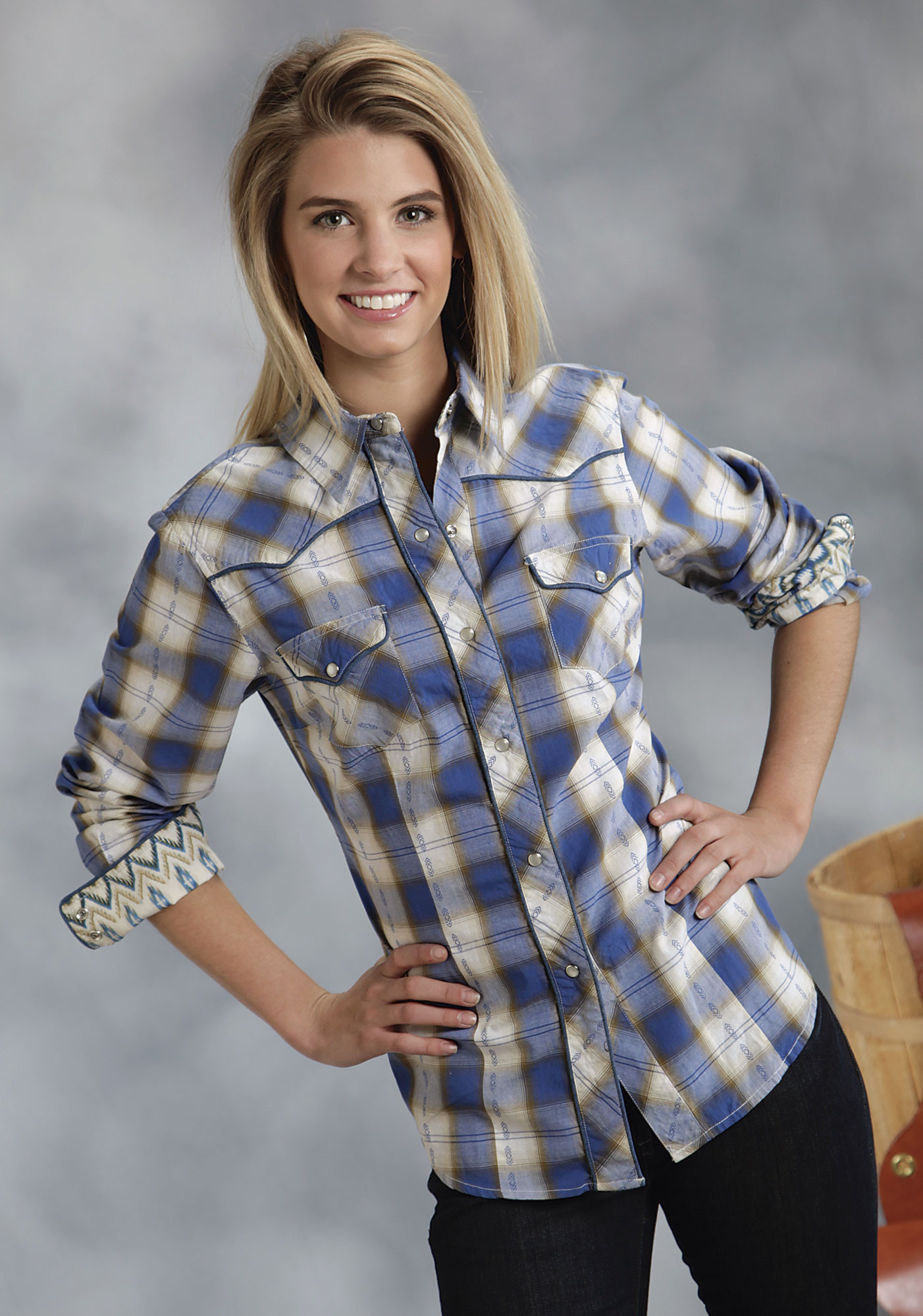 Short Sleeve Plaid Shirts Womens