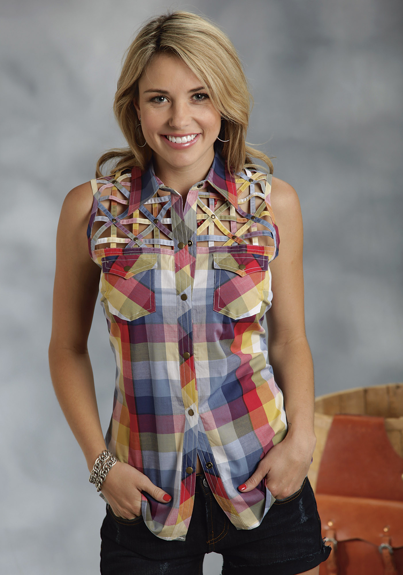 Plaid Shirt Womens