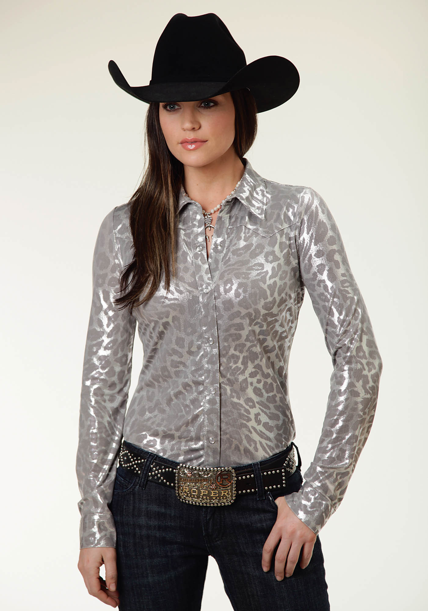 Womens Pearl Snap Shirts