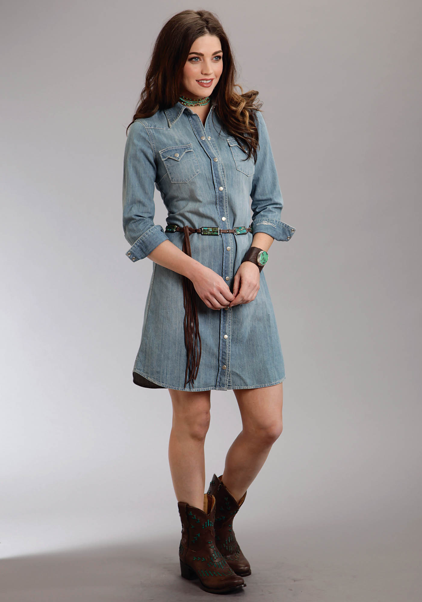 Stetson Womens Western Dress
